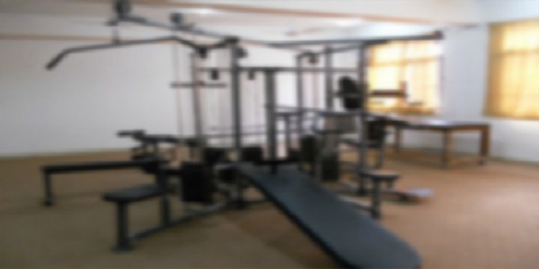 Gymnasium Is Available In Campus