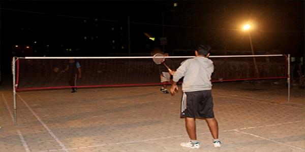 Separate Playground for Badminton